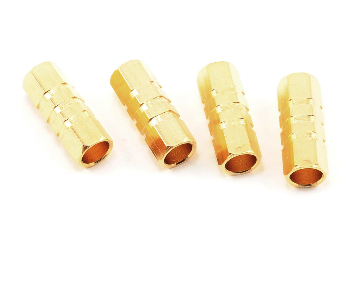 ProTek RC 4.0mm Gold Plated Surface Mount Connectors (4 Female)