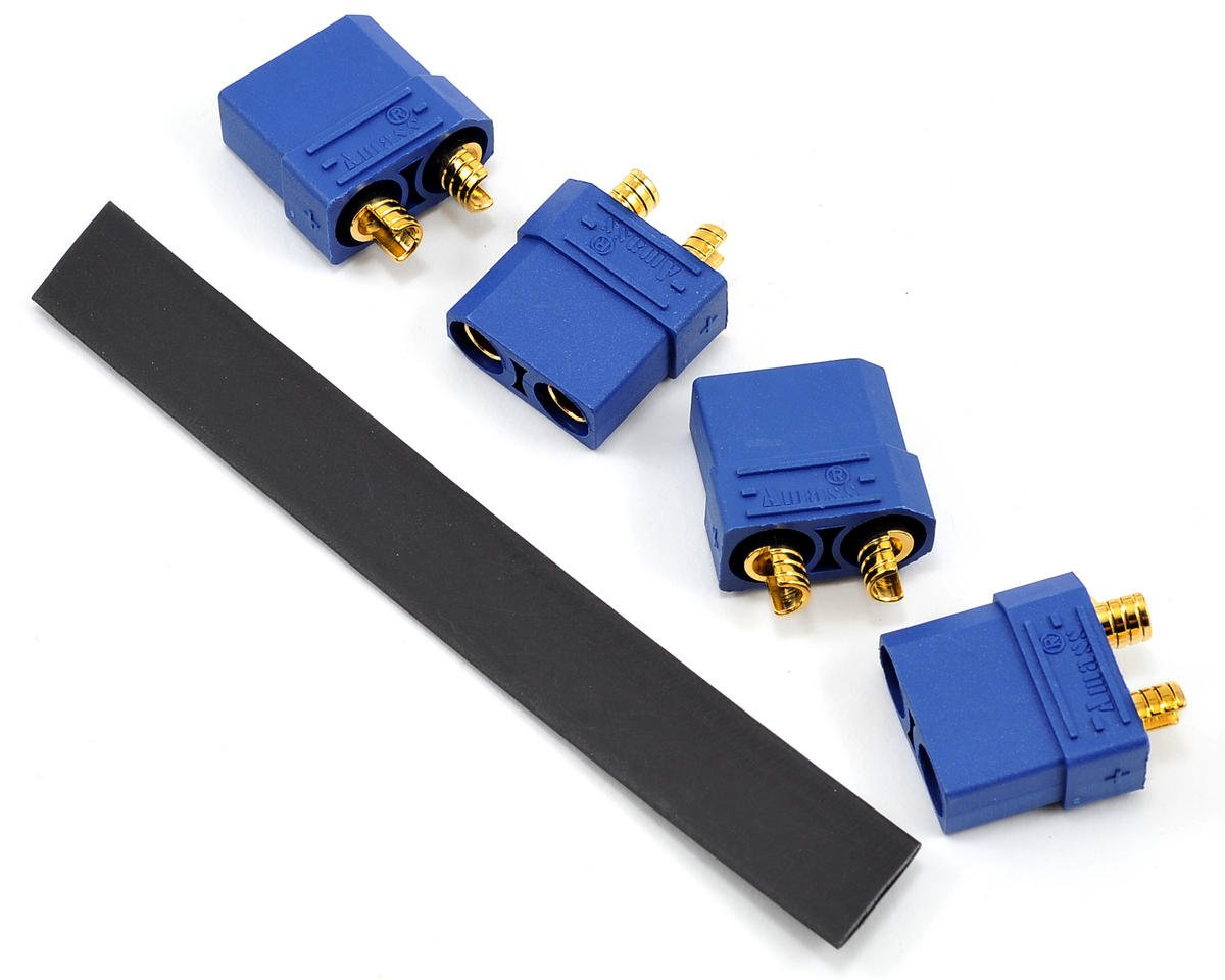 "ProTek RC 4.5mm ""TruCurrent"" XT90 Polarized Battery Connectors (4 Female)"