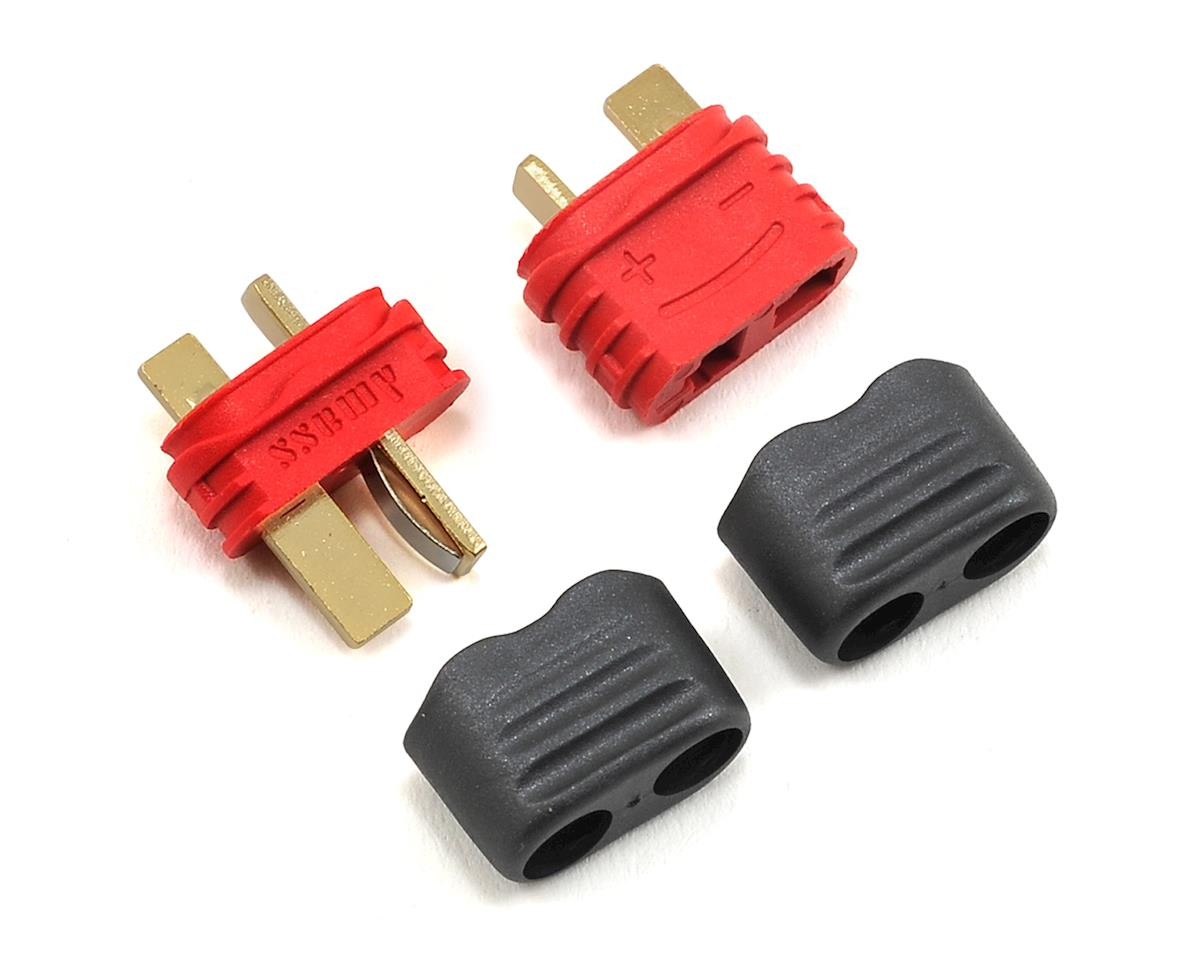 ProTek RC Sheathed T-Style Plug (1 Male/1 Female)