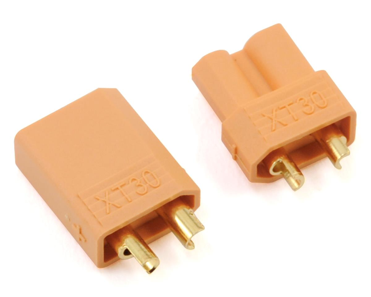 XT30 Polarized Connectors (1 Male/1 Female) by ProTek RC