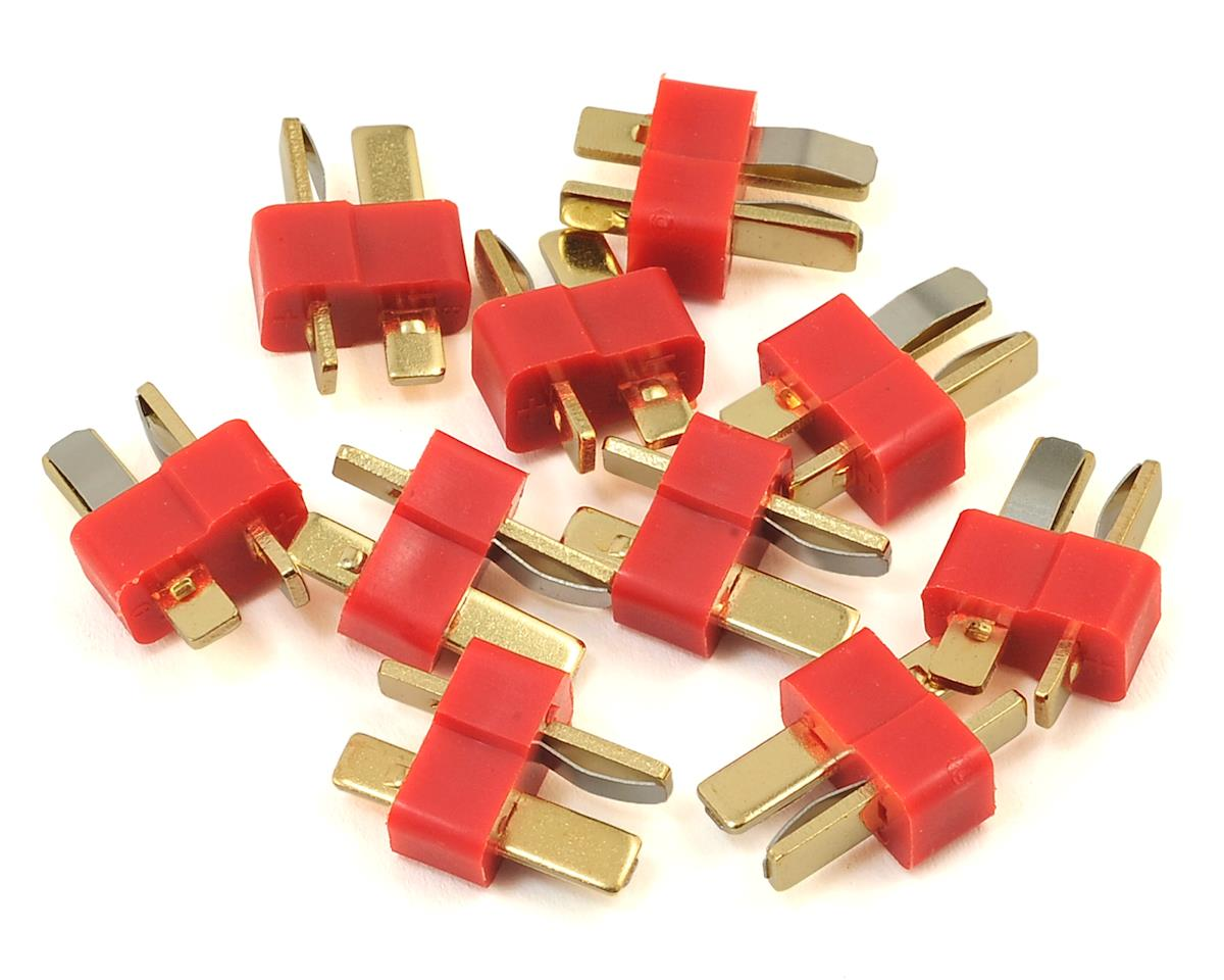 T-Style Bulk Package Connectors (10 Male) by ProTek RC