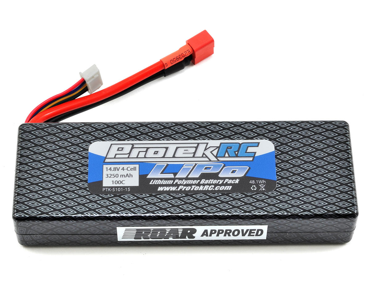 "ProTek RC 4S ""Supreme Power"" LiPo 100C Hard Case Battery Pack (14.8V/3250mAh)"