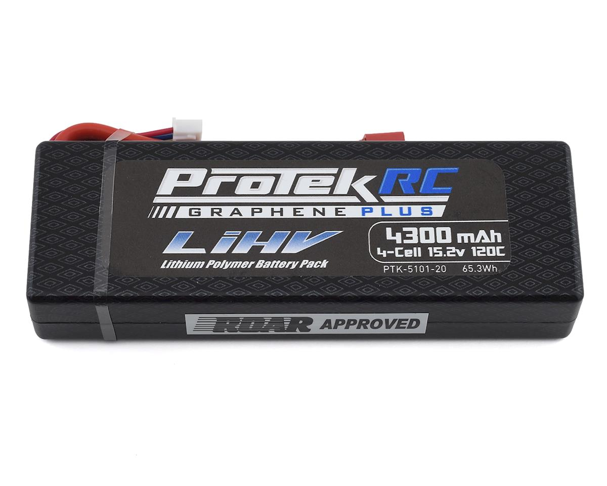 ProTek RC 4S 120C Low IR Si-Graphene + HV LCG LiPo Battery (15.2V/4300mAh)