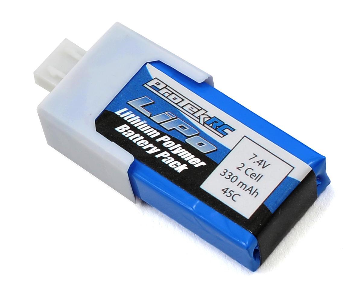 "ProTek RC 2S ""High Power"" LiPo Micro 45C Battery Pack (7.4V/330mAh)"