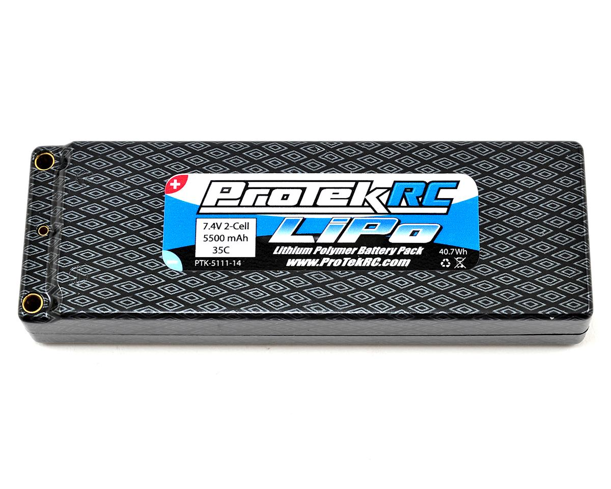 "ProTek RC 2S ""Supreme Power"" LiPo 35C Hard Case Battery (7.4V/5500mAh)"