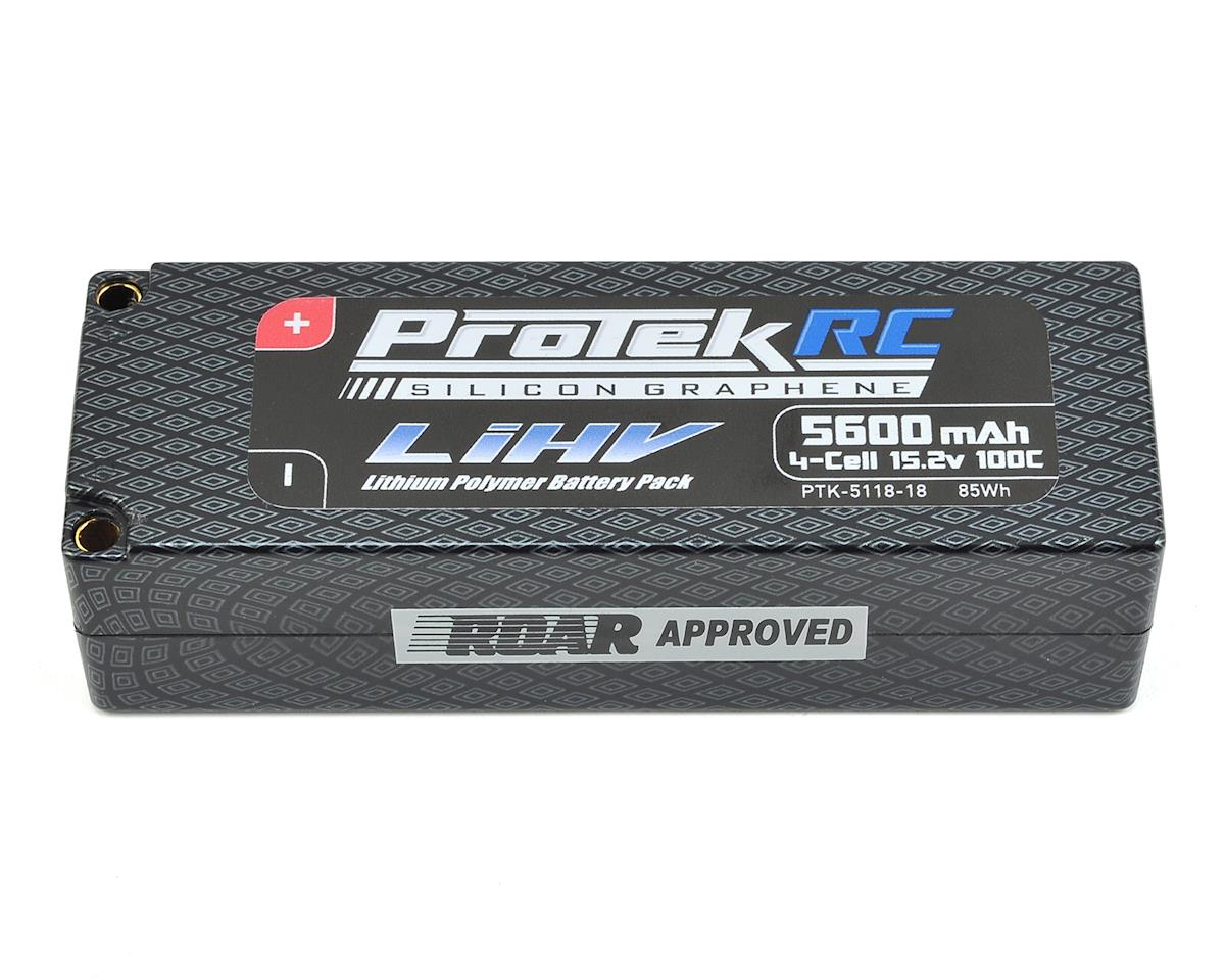 4S 100C Silicon Graphene HV LCG LiPo Battery (15.2V/5600mAh) by ProTek RC