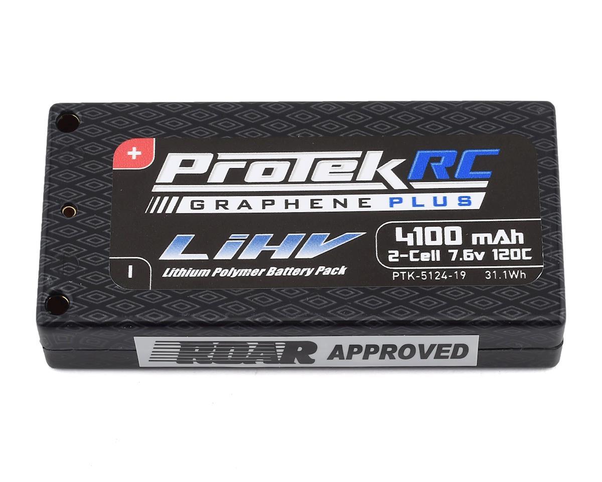 ProTek RC 2S 120C Si-Graphene + HV LCG Shorty LiPo Battery (7.6V/4100mAh)