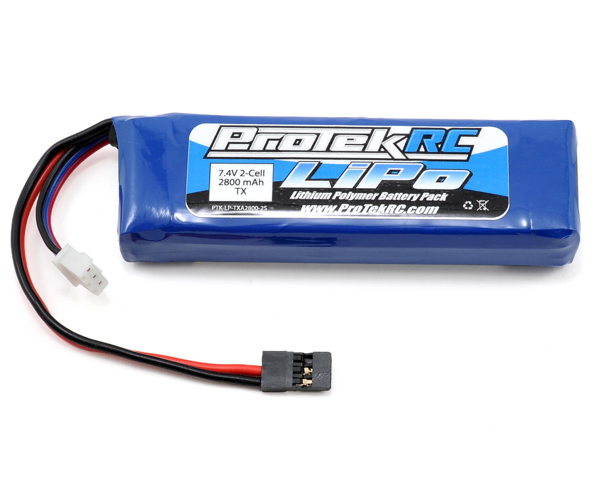 ProTek RC LiPo Transmitter Battery (7.4V/2800mAh) (MT-4, MT-4S, M11X, M12, M12S)