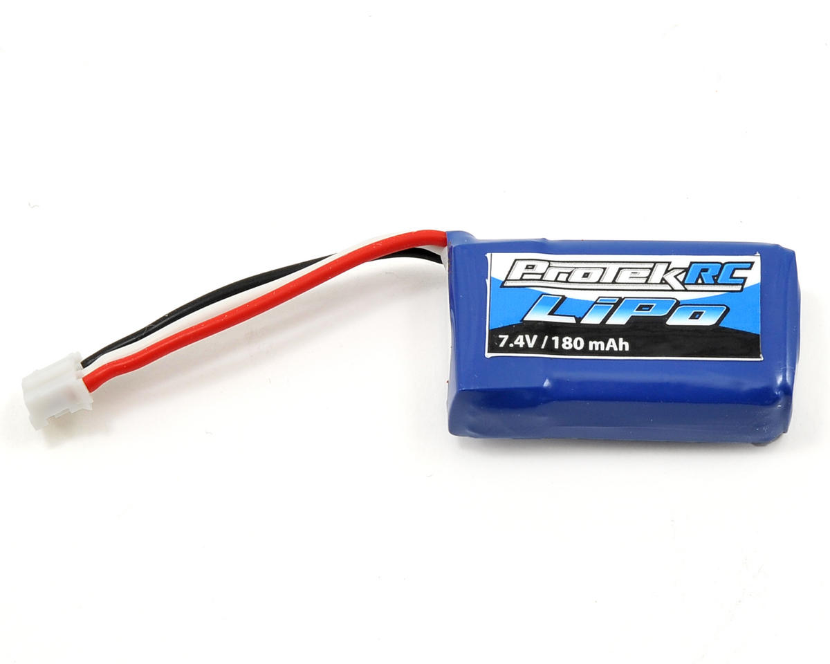 Image 1 for ProTek RC 2S High Power Micro Heli/Airplane 25C LiPo Battery (7.4V/180mAh)