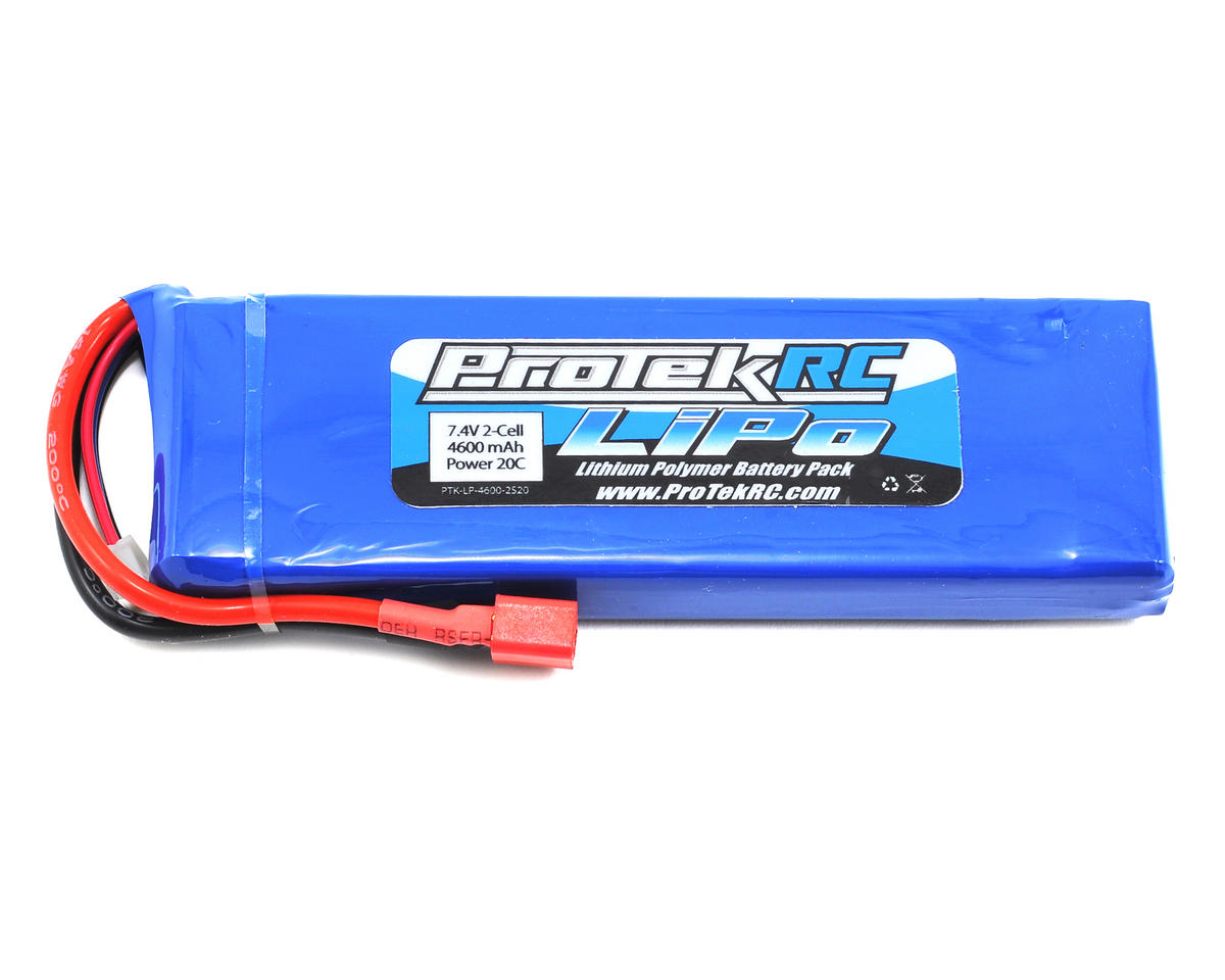 ProTek RC 2S LiPo 20C Battery Pack (7.4V/4600mAh) (Receiver Battery)