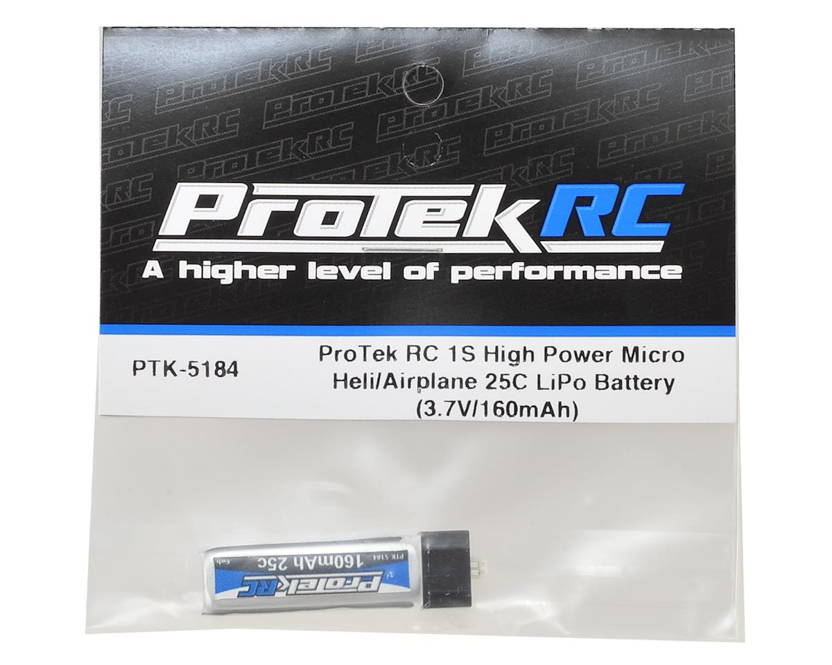 1S High Power Micro Heli/Airplane 25C LiPo Battery (3.7V/160mAh) by ProTek RC