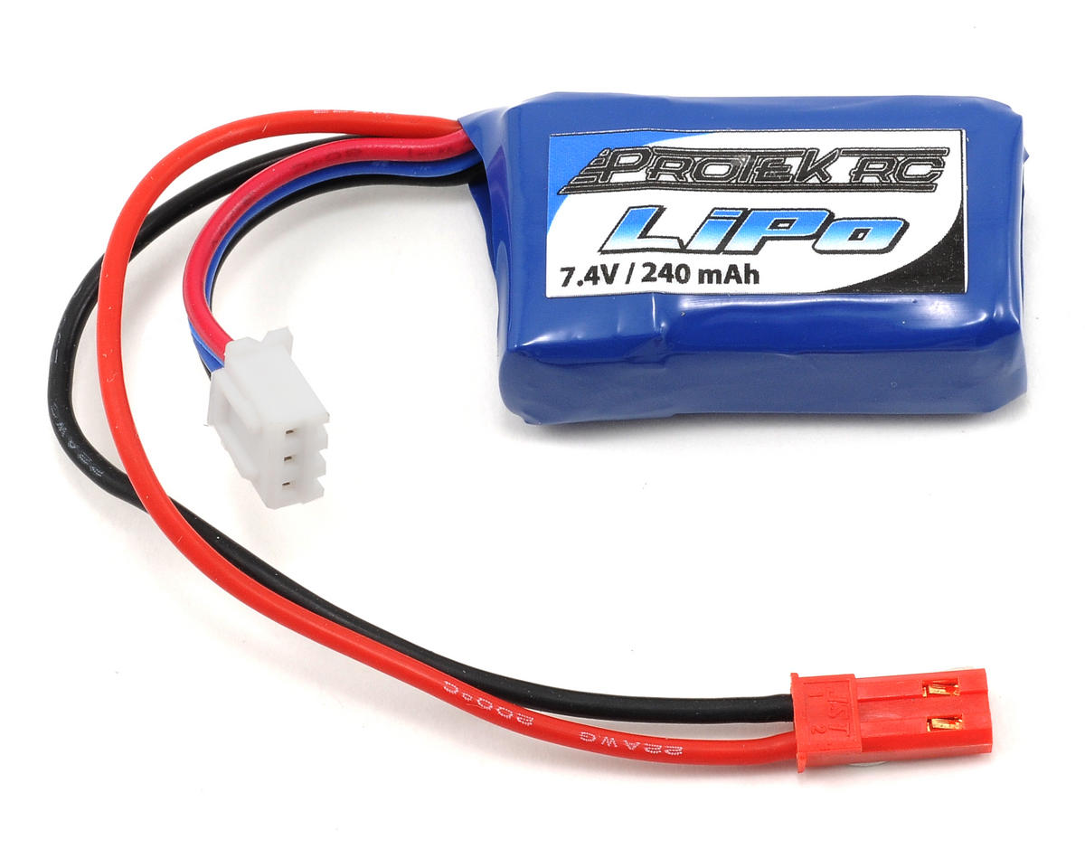 2S High Power 30C Micro LiPo Battery (7.4V/240mAh) by ProTek RC