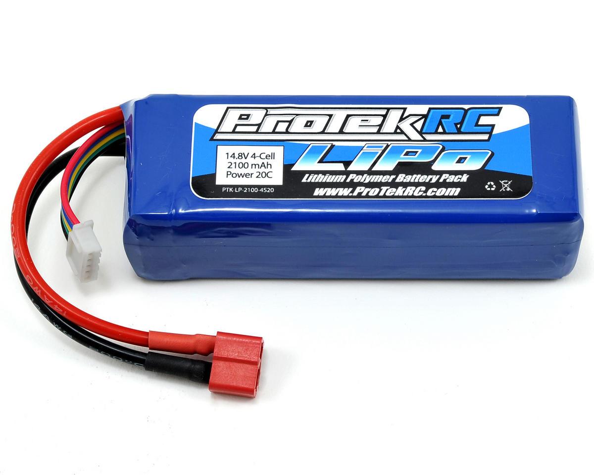 Protek Rc 4s Lipo 20c Battery Pack 14 8v 2100mah