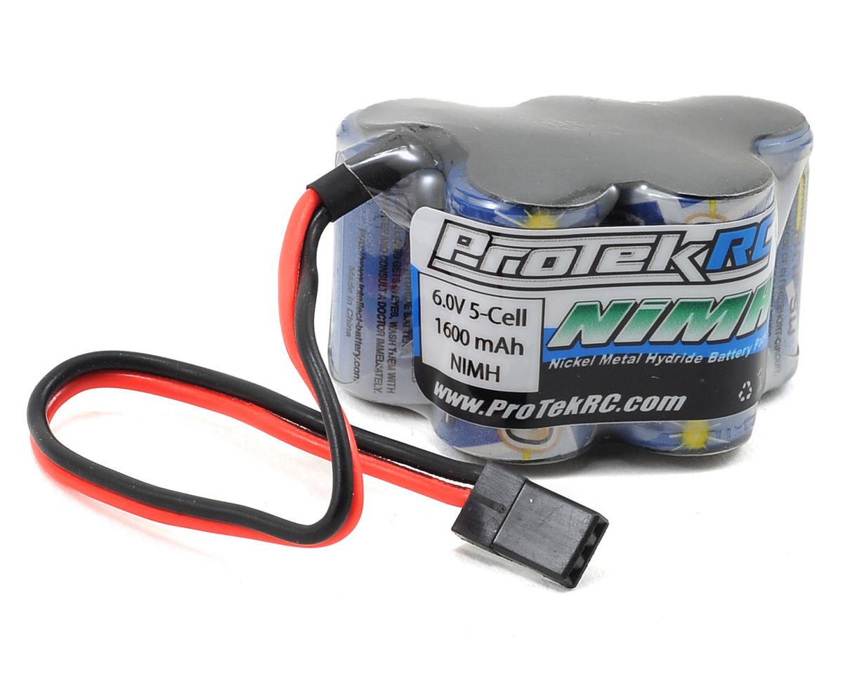 ProTek RC 5-Cell 6.0V NiMH Intellect Hump Receiver Pack (1600mAh)