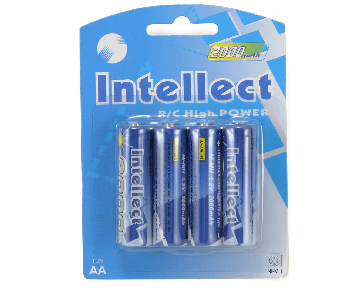 ProTek RC NiMH AA Loose Intellect Battery Cells (4) (1.2V/IB2000mAh)