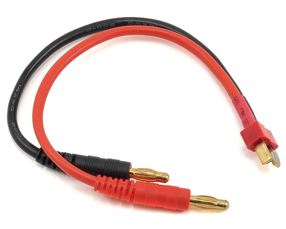 ProTek RC Heavy Duty Ultra Plug Charge Lead (Male Plug to 4mm Banana Plugs)