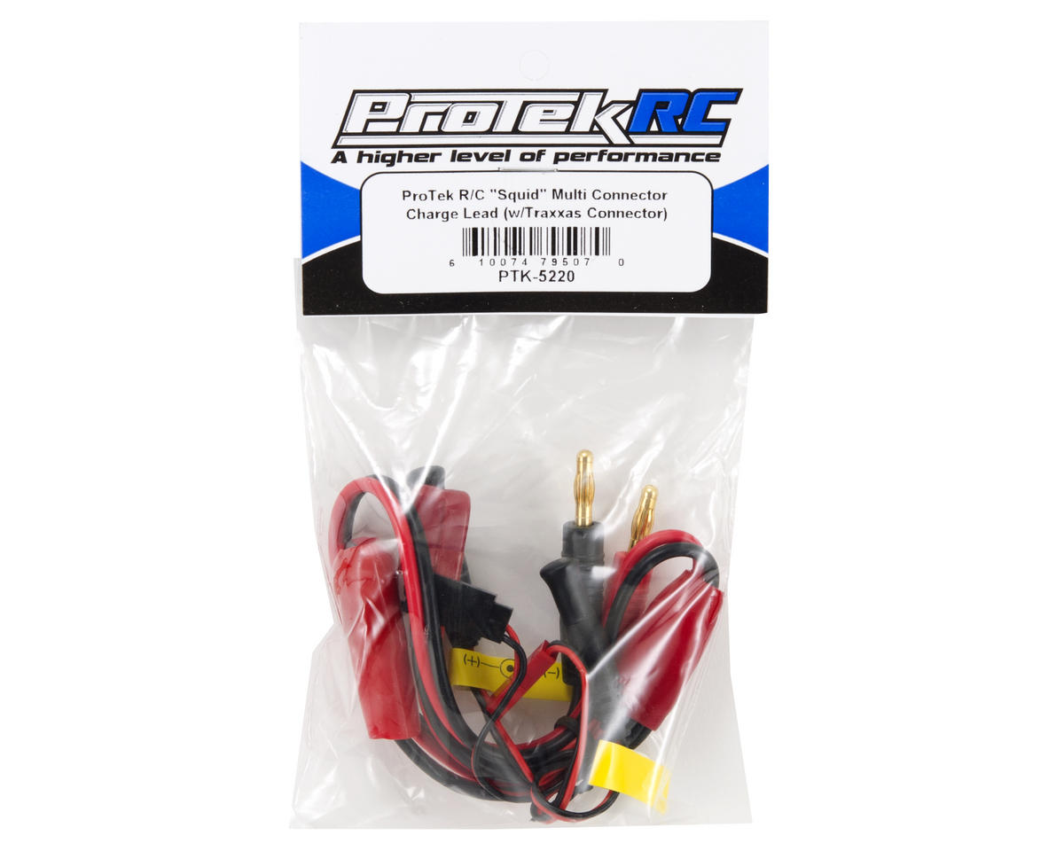 "ProTek RC ""Squid"" Multi Connector Charge Lead (w/Traxxas Connector)"
