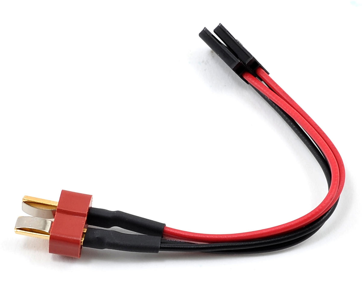 ProTek RC T-Style Ultra Plug to Futaba Style Plug Adapter (Male/Male)
