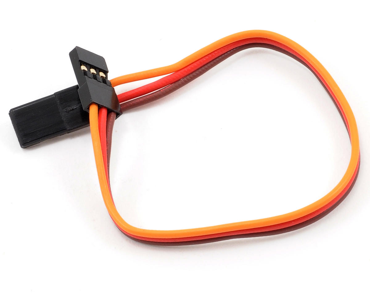 "ProTek RC Heavy Duty 15cm (6"") Servo Extension Lead (Male/Male)"