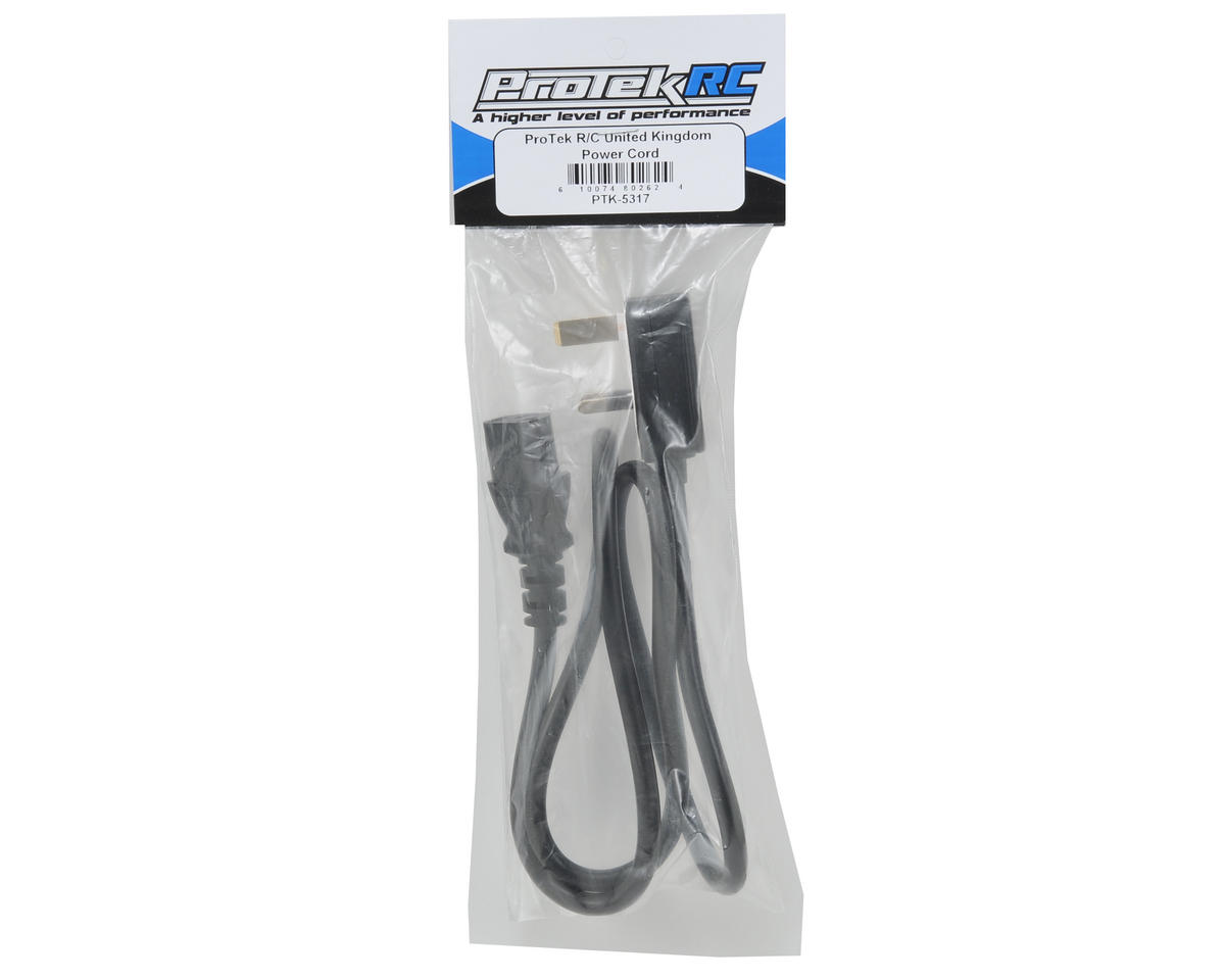 "ProTek RC ""Type G"" Power Cord"