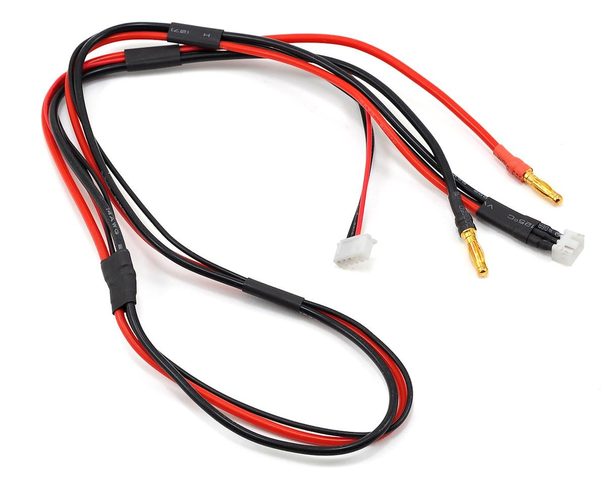 ProTek RC Receiver Balance Charge Lead (2S to 4mm Banana w/4S ...
