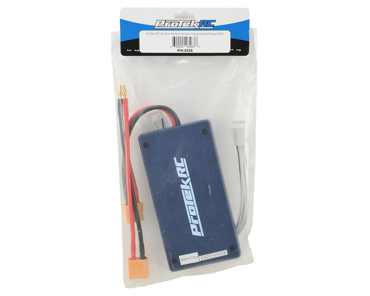2S-6S 4-Battery Parallel Charger Board (T-Style/JST-XH) by ProTek RC