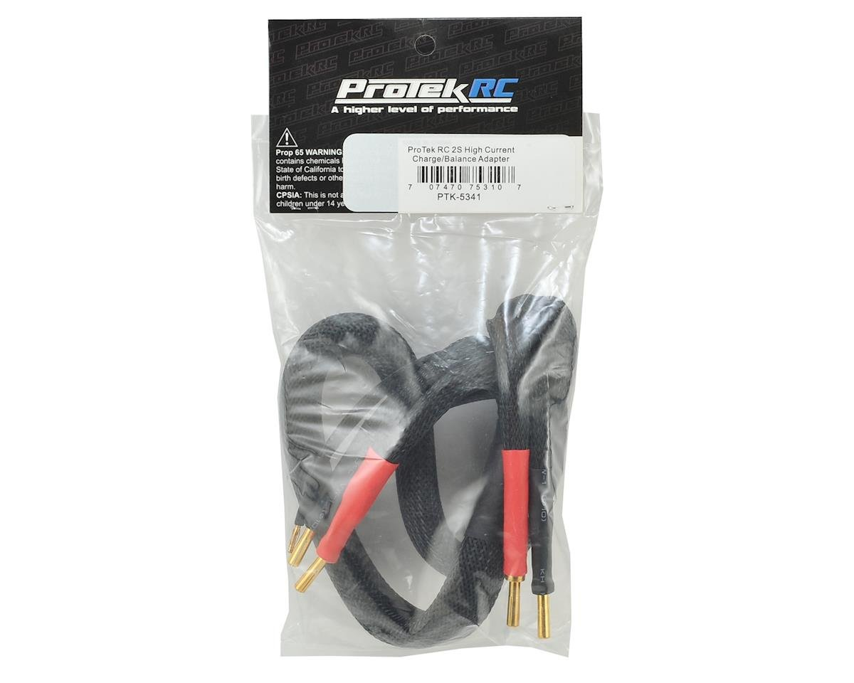 ProTek RC 2S High Current Charge/Balance Adapter (4mm to 4mm Solid Bullets)