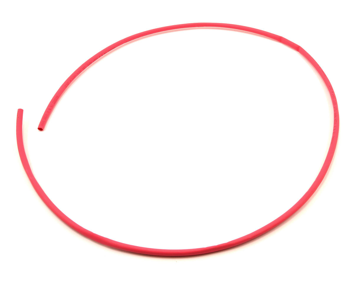 ProTek RC 4mm Red Heat Shrink Tubing (1 Meter)