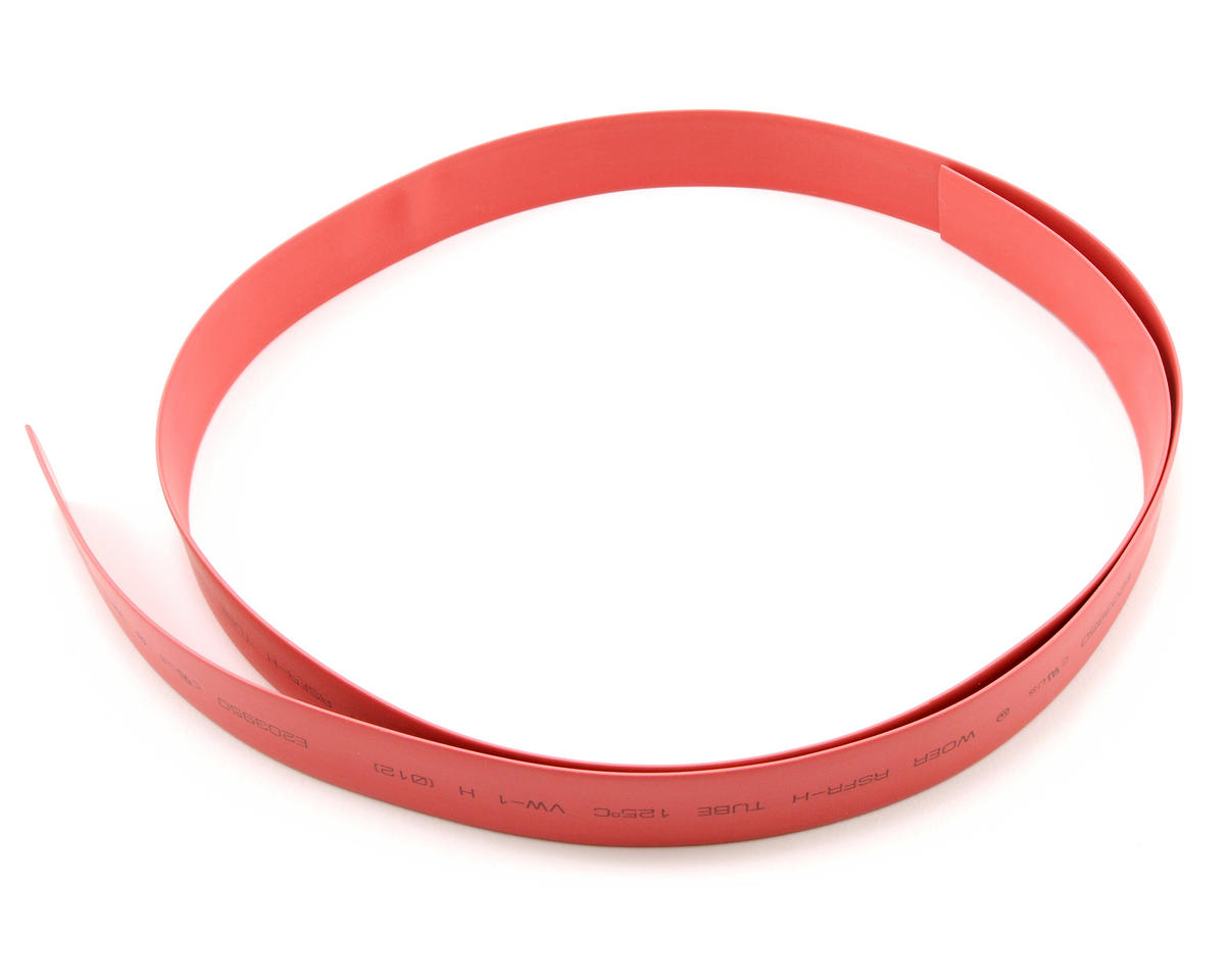 ProTek RC 12mm Red Heat Shrink Tubing (1 Meter)