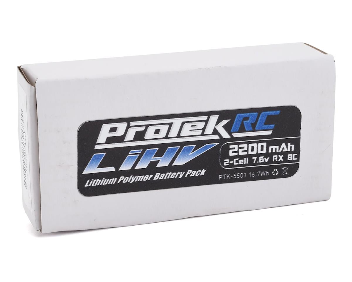 ProTek RC HV LiPo Receiver Battery Pack (Mugen/AE/8ight-X) (7.6V/2200mAh)