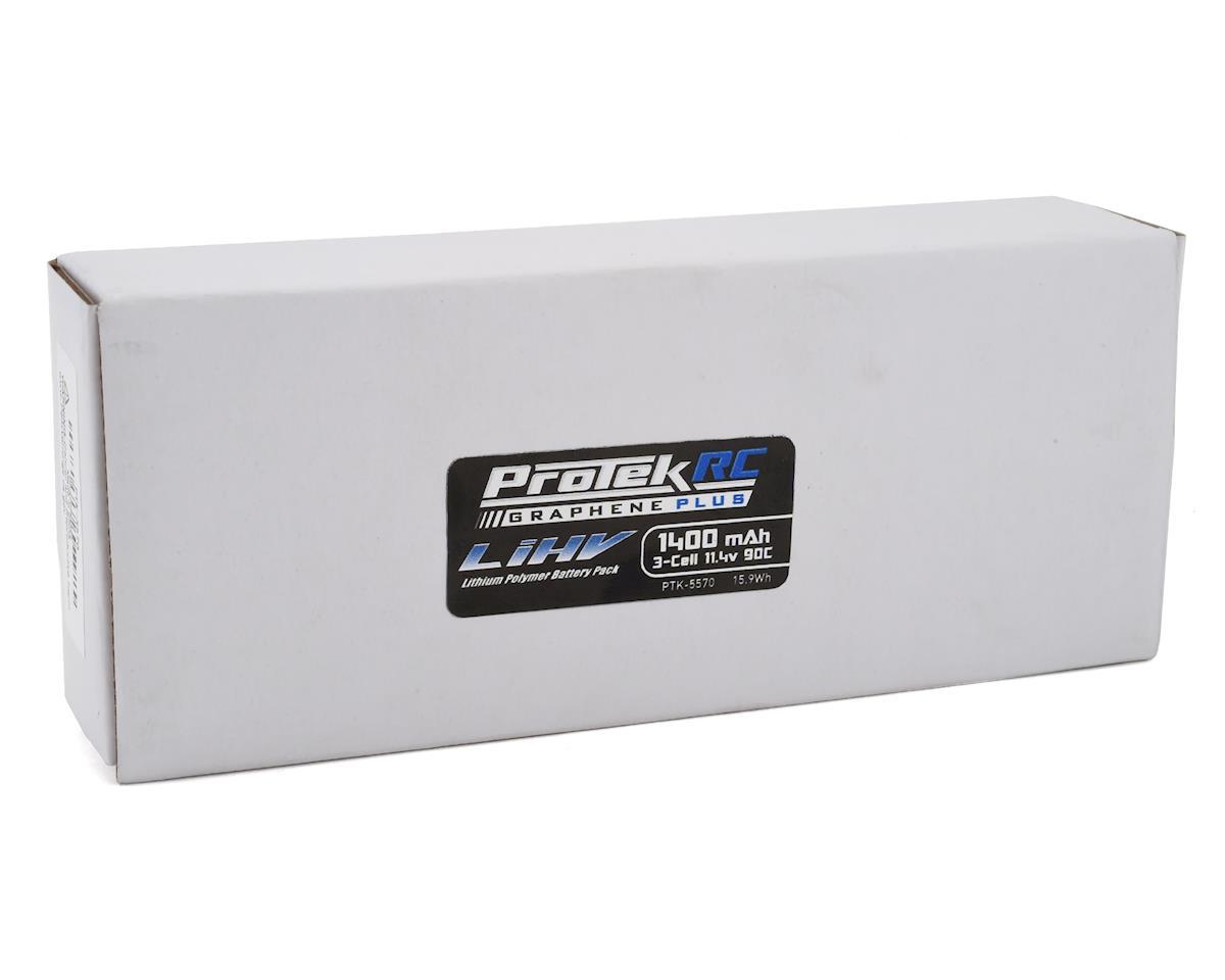 Image 2 for ProTek RC 3S 90C Si-Graphene + HV LiPo Battery w/XT60 Connector (11.4V/1400mAh)
