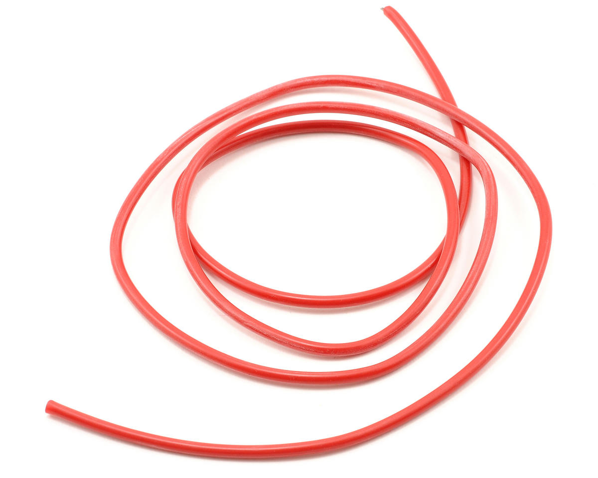 16awg Red Silicone Hookup Wire (1 Meter) by ProTek RC