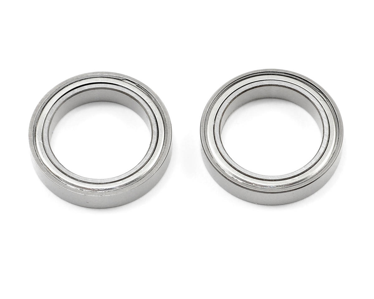 "ProTek RC 15x21x4mm Ceramic Metal Shielded ""Speed"" Bearing (2)"