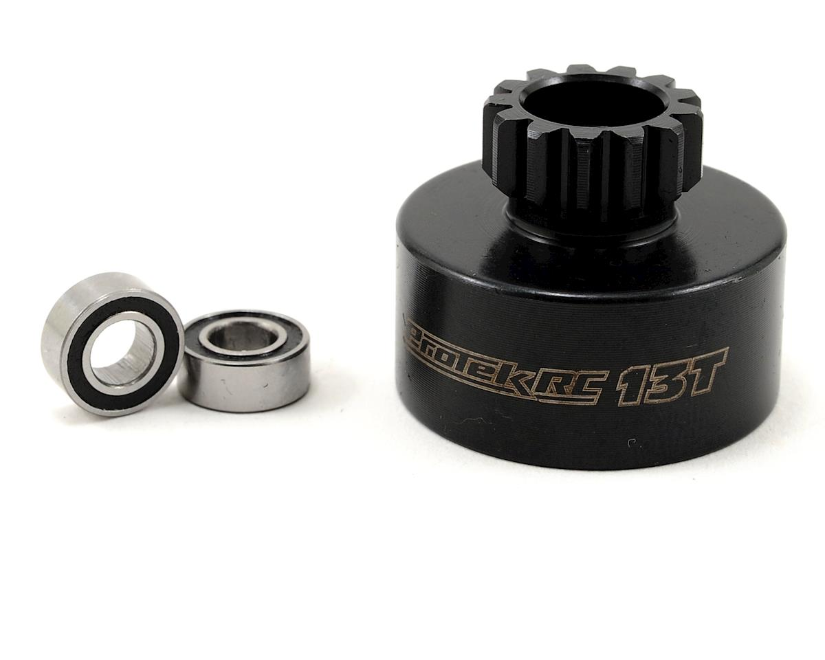ProTek RC Hardened Clutch Bell w/Bearings (13T) (Mugen/OFNA Style)