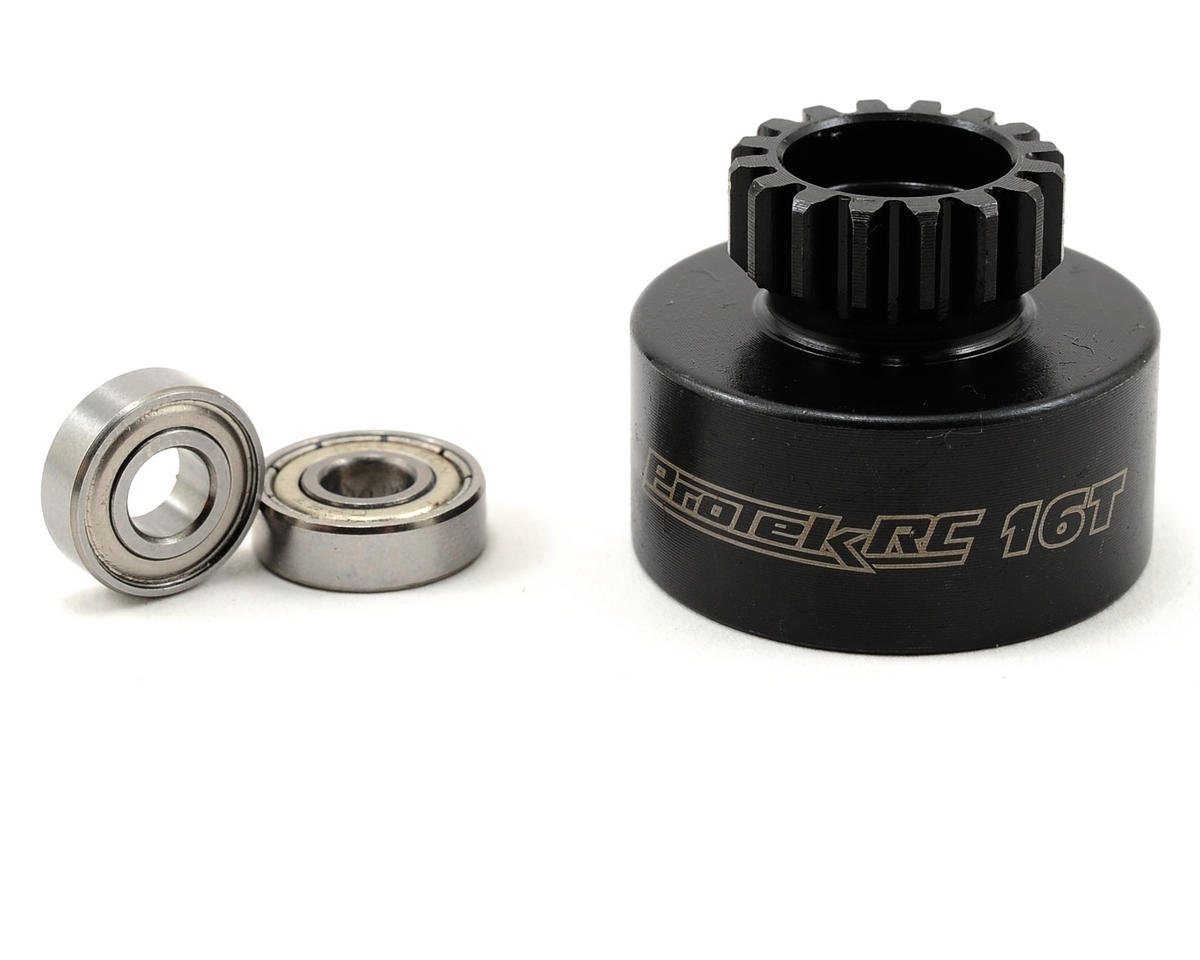 ProTek RC Hardened Clutch Bell w/Bearings (16T) (Mugen/OFNA Style)