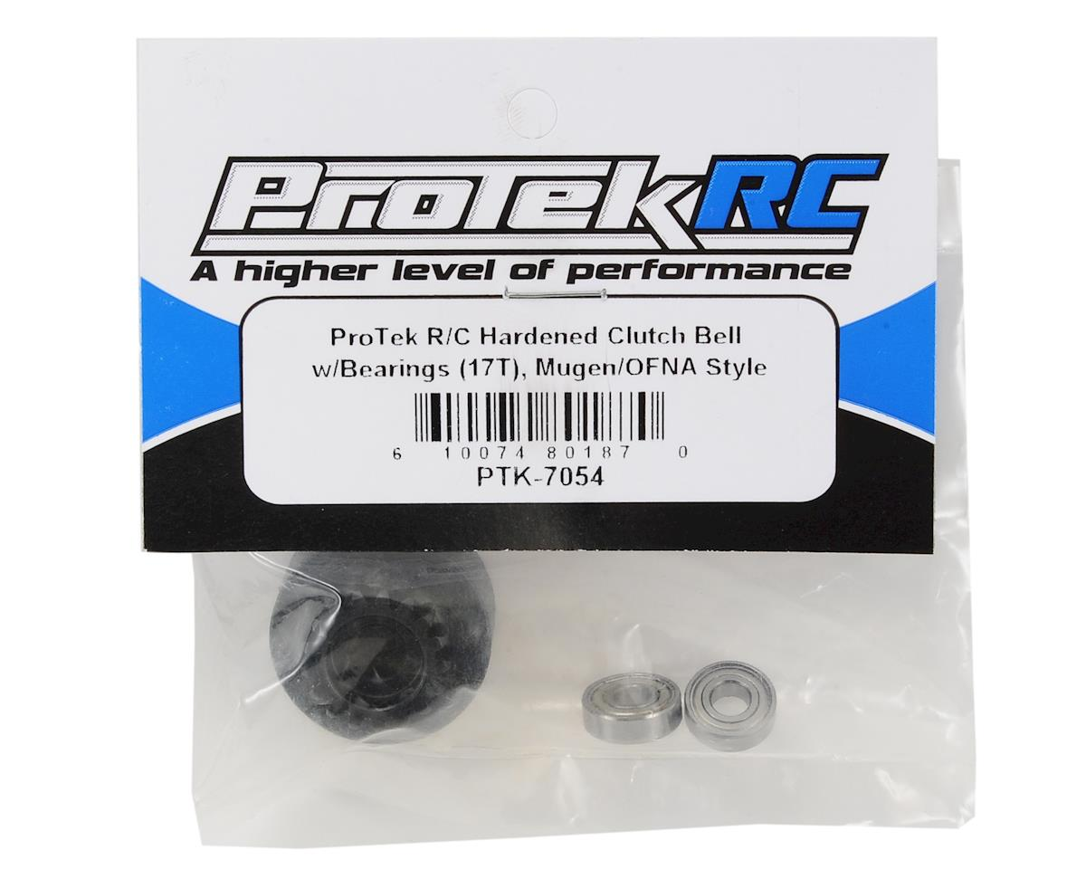 Hardened Clutch Bell w/Bearings (17T) (Mugen/OFNA Style) by ProTek RC