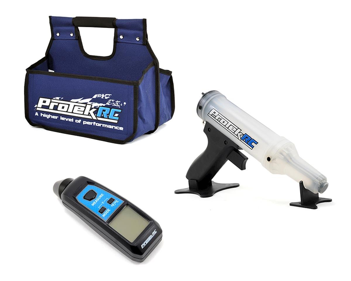 ProTek RC Temp Gun, Pit Caddy & Fuel Gun Nitro Package