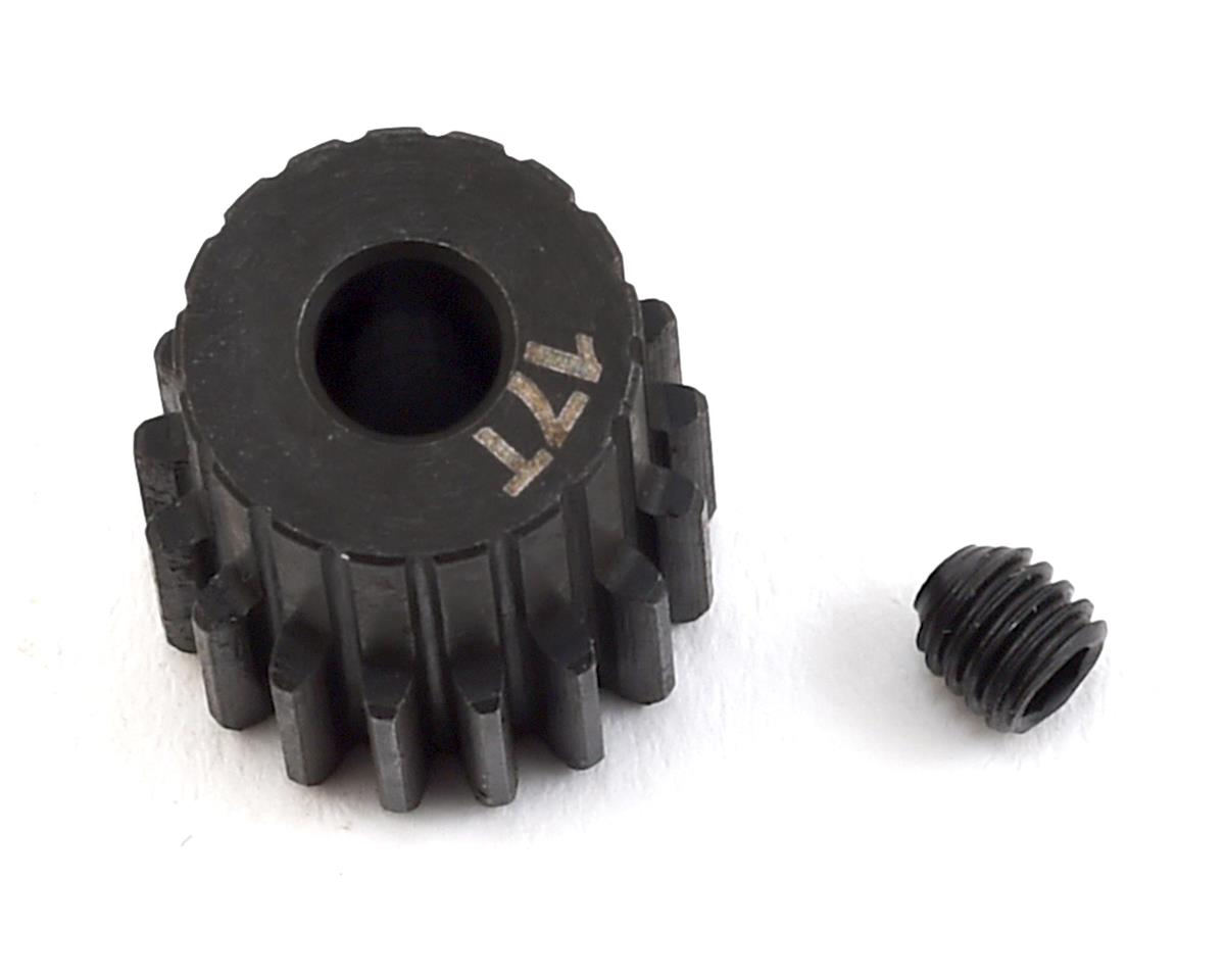 Lightweight Steel 48P Pinion Gear (3.17mm Bore) (17T) by ProTek RC