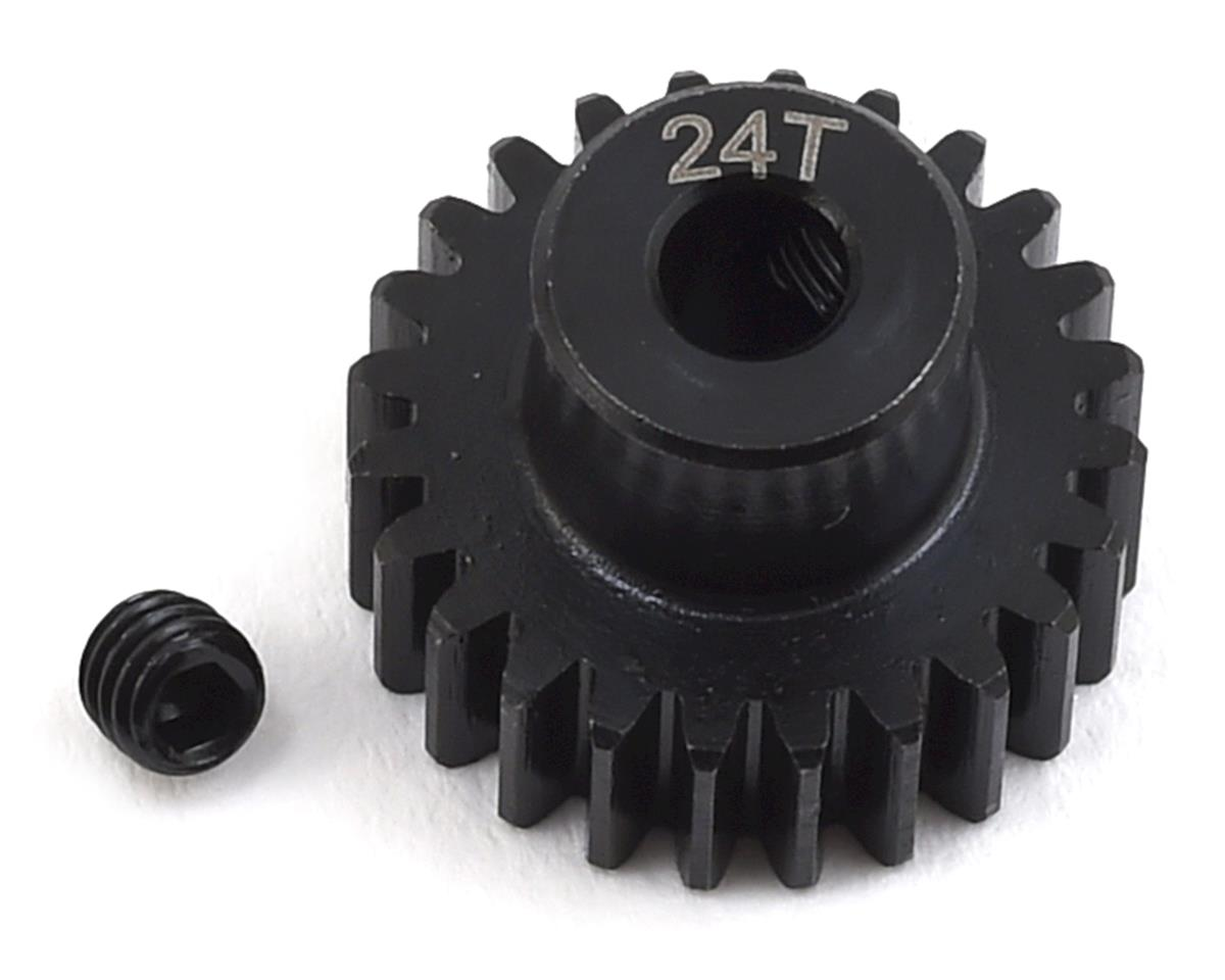 Lightweight Steel 48P Pinion Gear (3.17mm Bore) (24T) by ProTek RC