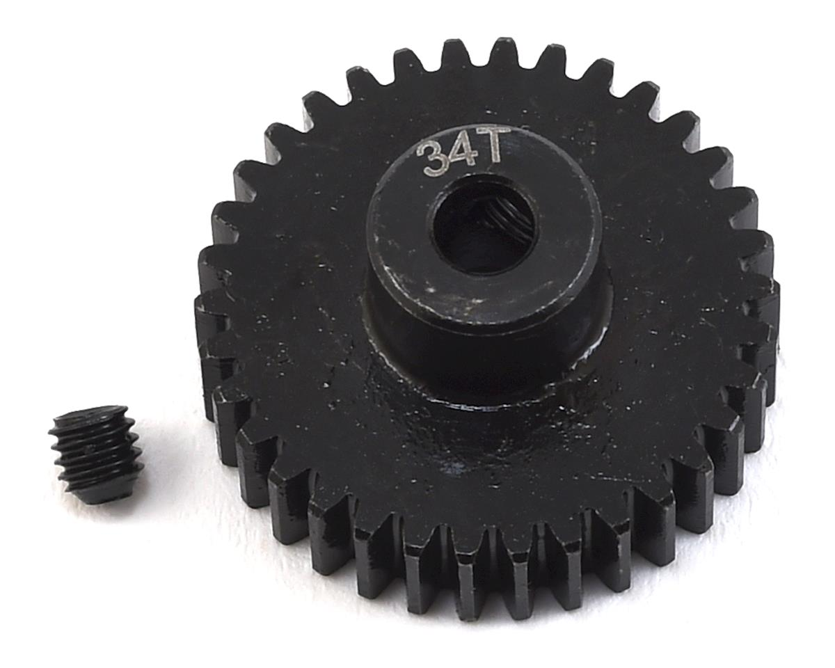 Lightweight Steel 48P Pinion Gear (3.17mm Bore) (34T) by ProTek RC