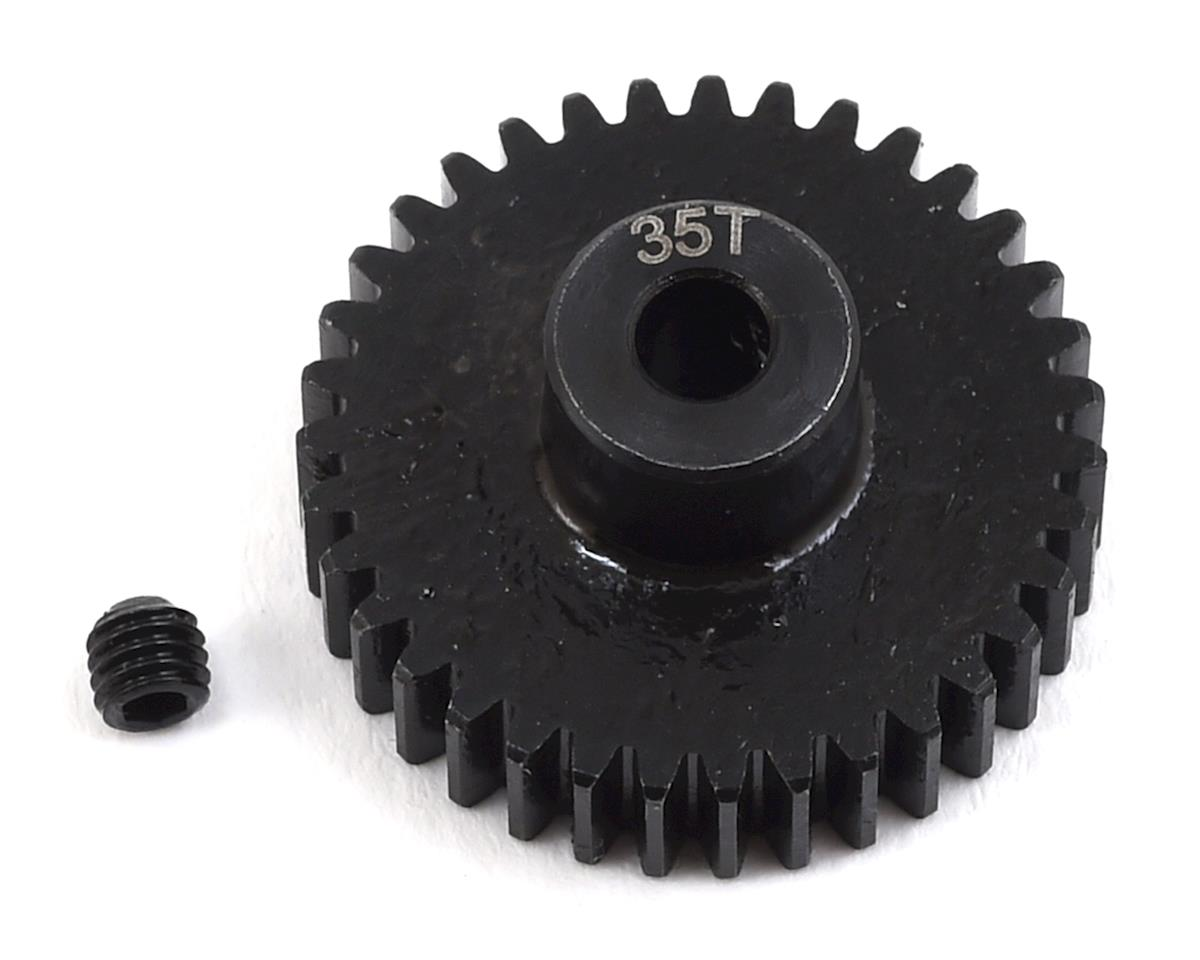 Lightweight Steel 48P Pinion Gear (3.17mm Bore) (35T) by ProTek RC