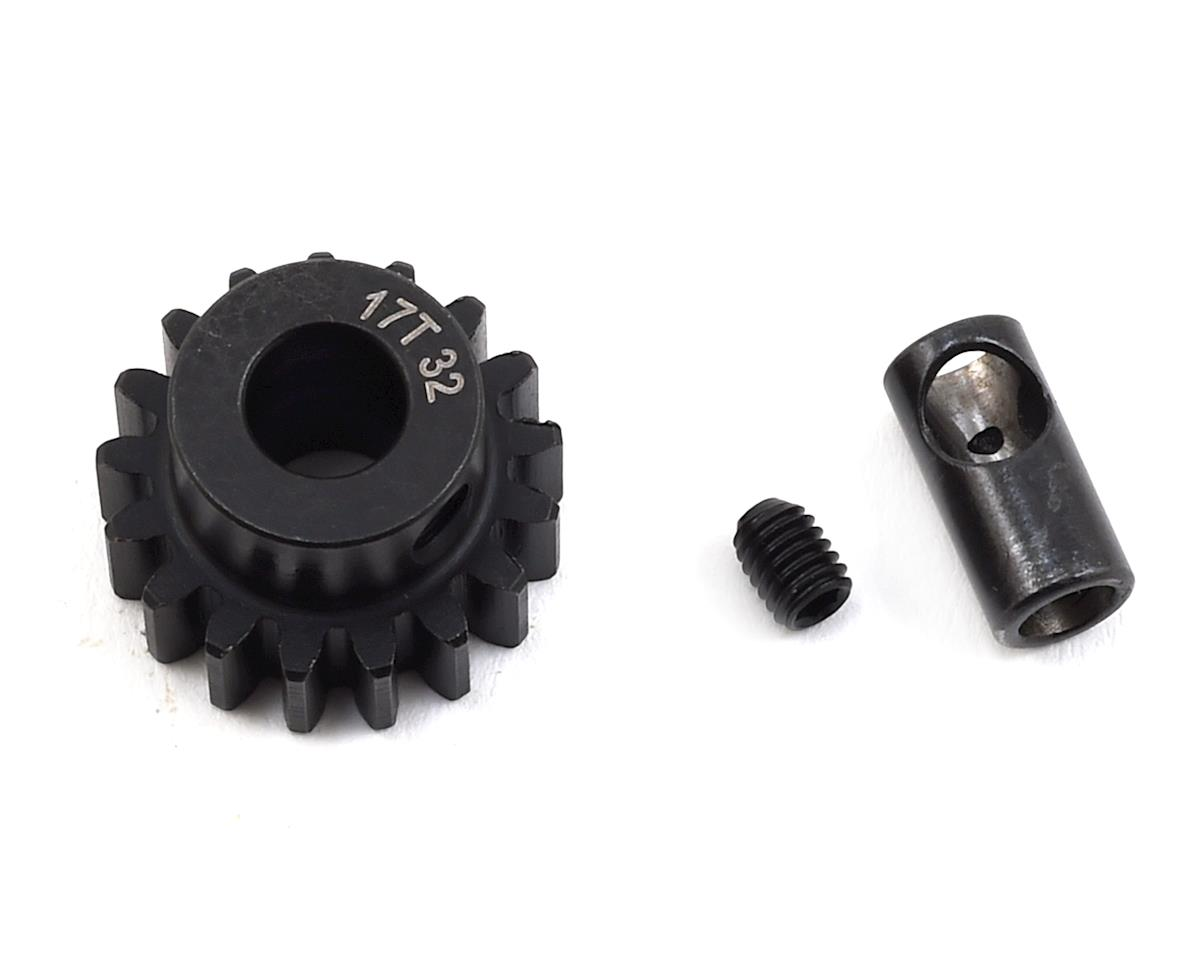 ProTek RC Steel 32P Pinion Gear w/3.17mm Reducer Sleeve (Mod .8) (5mm Bore) (17T)