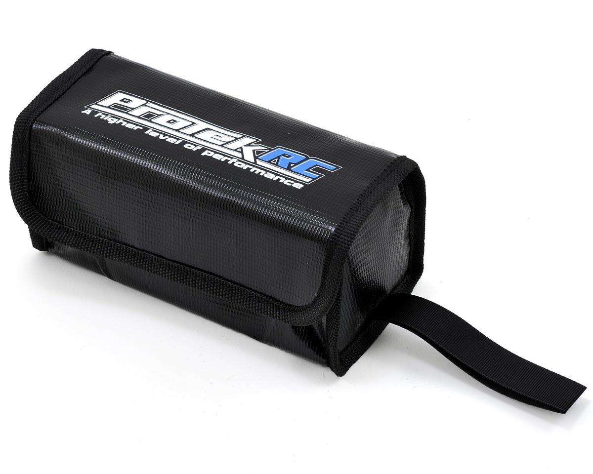 """Flak Jacket"" Flame Resistant LiPo Polymer Charging Bag (16x6.5x7cm) by ProTek RC"