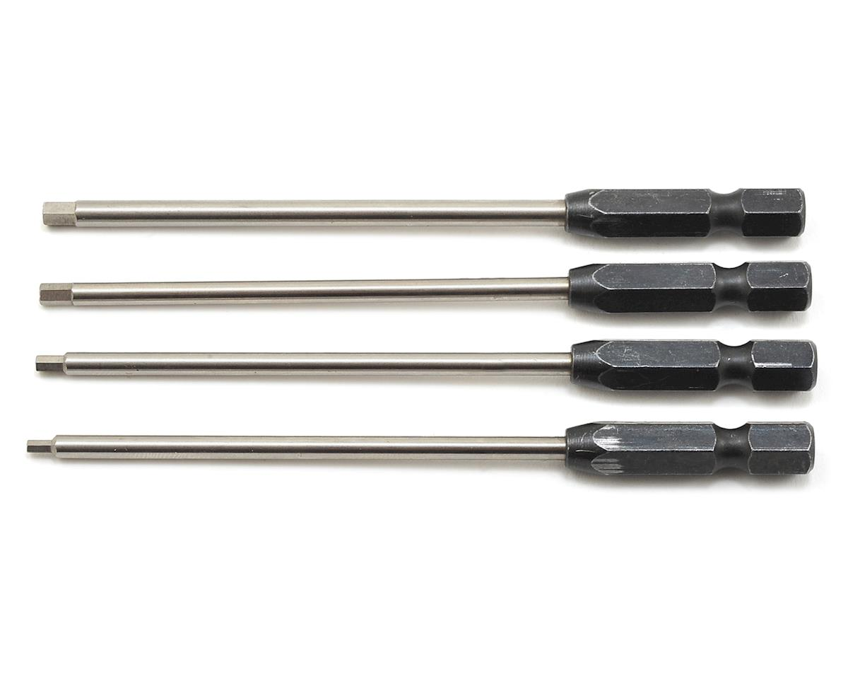 "ProTek RC ""TruTorque"" Metric 1/4"" Power Drill Tip Set (4) (1.5, 2.0, 2.5, 3.0mm) 