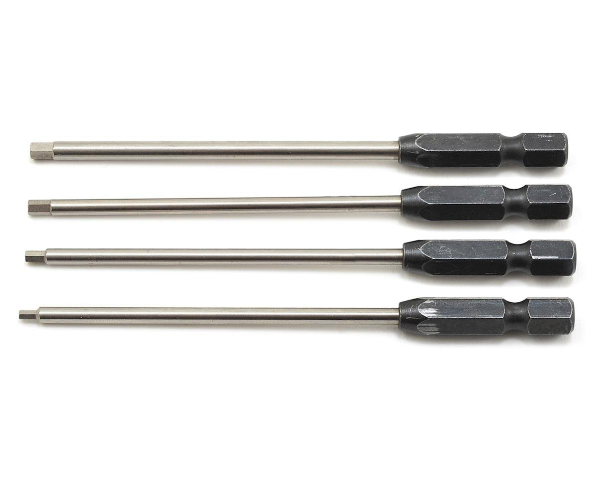 """TruTorque"" Metric Power Tool Tip Set (4) (1.5, 2.0, 2.5, 3.0mm) by ProTek RC"