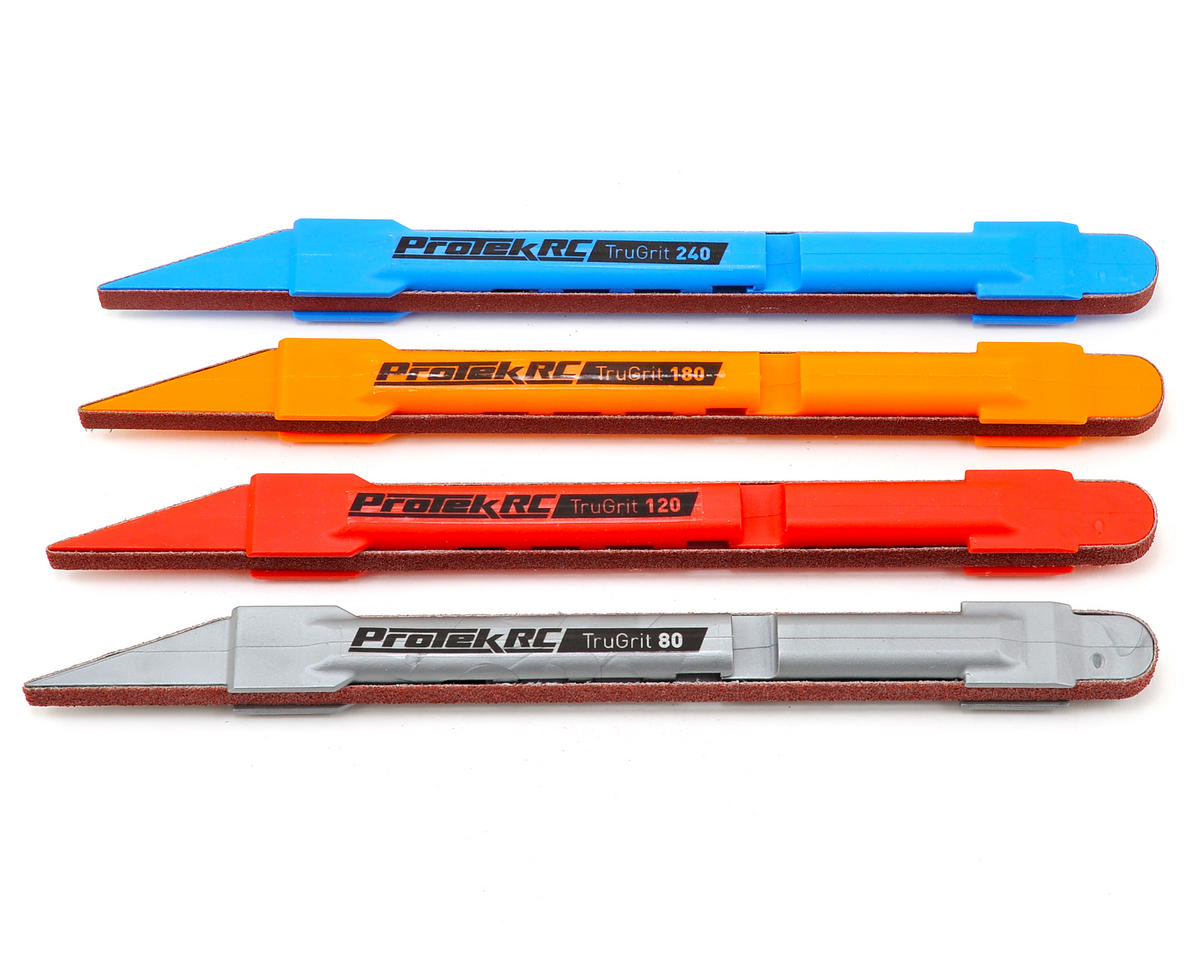 "ProTek RC ""TruGrit"" Detail Sanding Pen Set (4)"