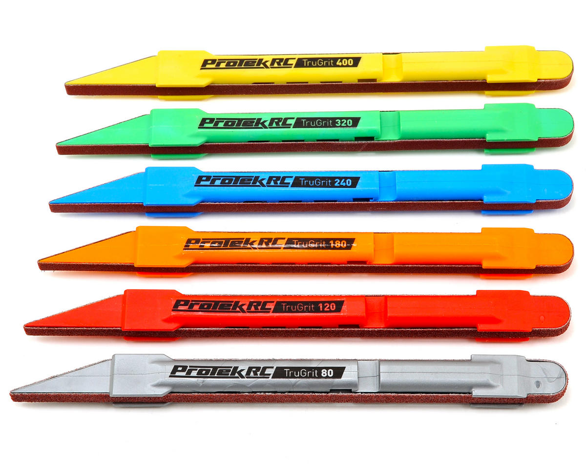 "ProTek RC ""TruGrit"" Detail Sanding Pen Set (6)"