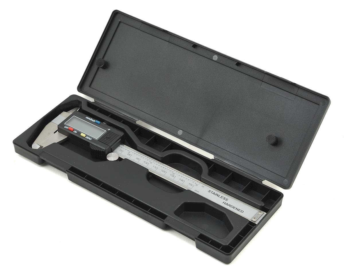 "ProTek RC 6"" Digital Caliper w/LCD Display & Hard Case"
