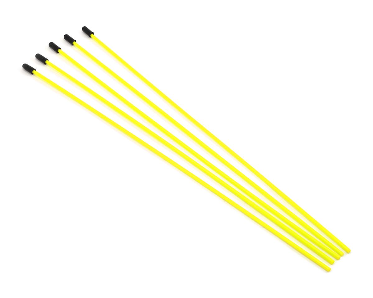 Antenna Tube w/Caps (Flo Yellow) (5) by ProTek RC