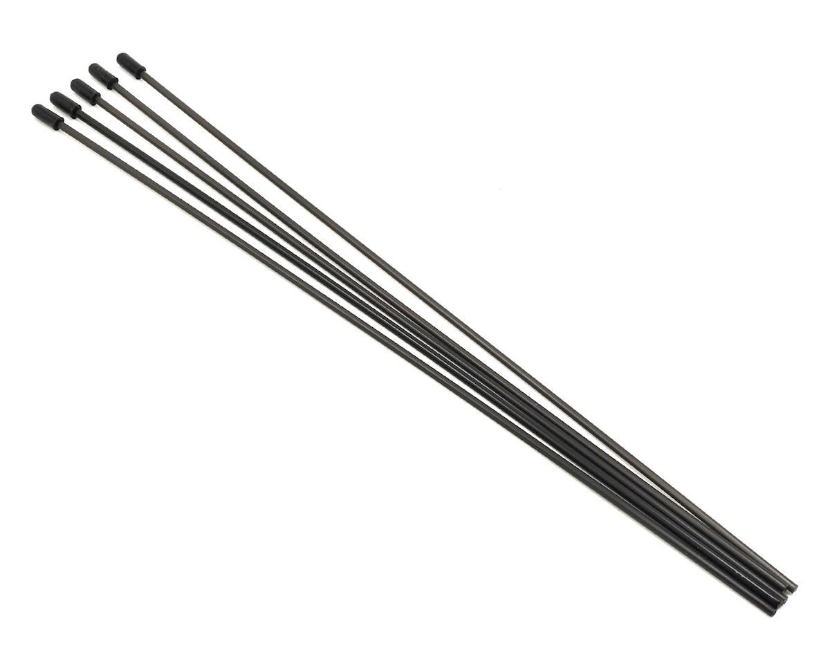 ProTek RC Antenna Tube w/Caps (Black) (5)